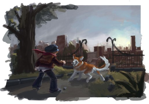Boy&Dog_CBernt